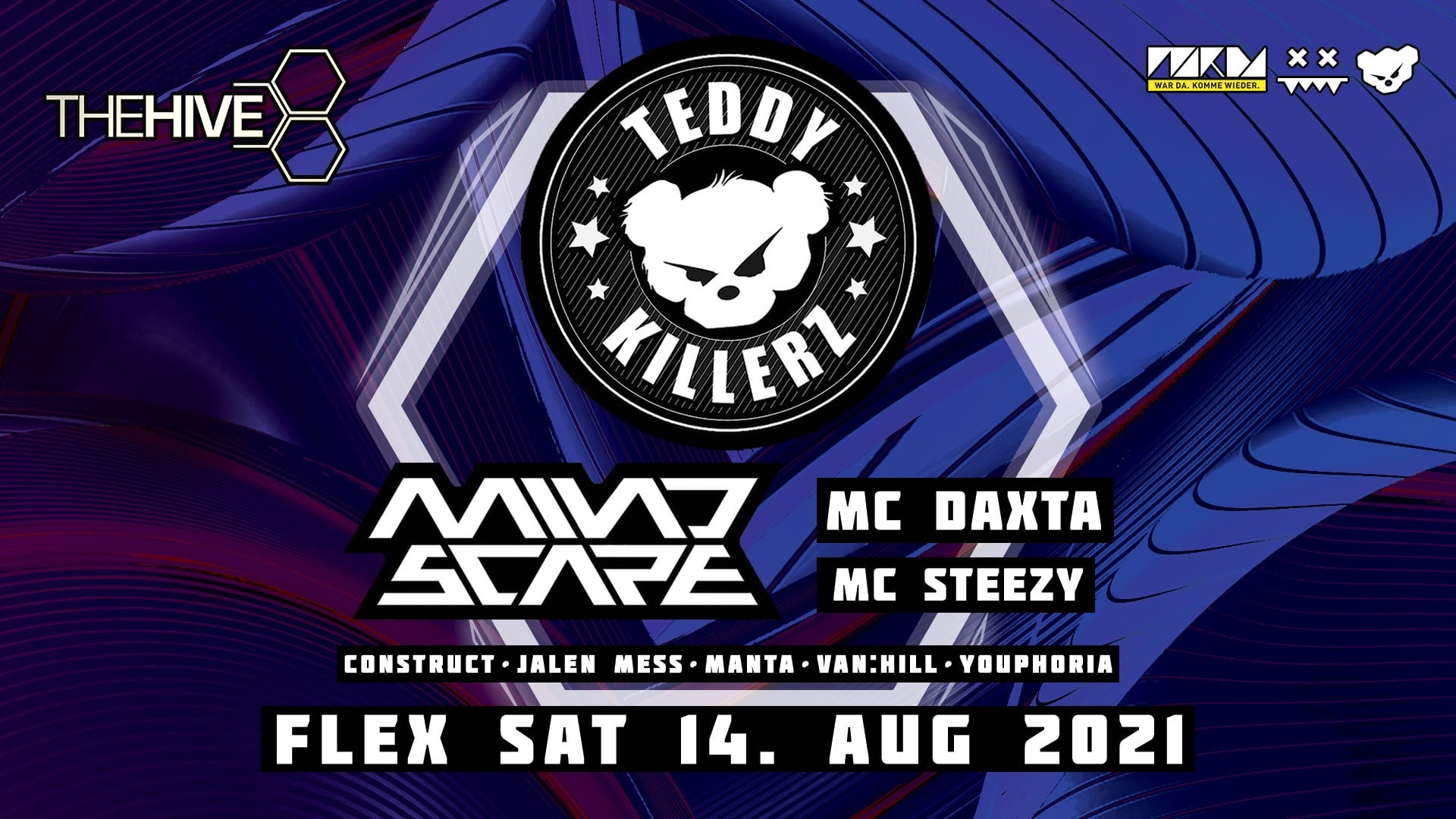 Events Wien: THE HIVE pres. Teddy Killerz & Mindscape