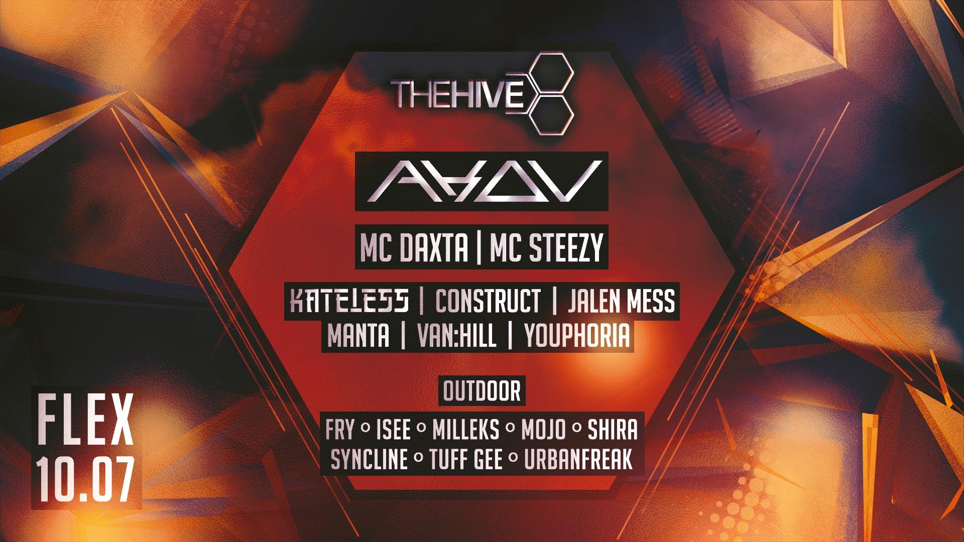 Events Wien: THE HIVE pres. AKOV & MC DAXTA