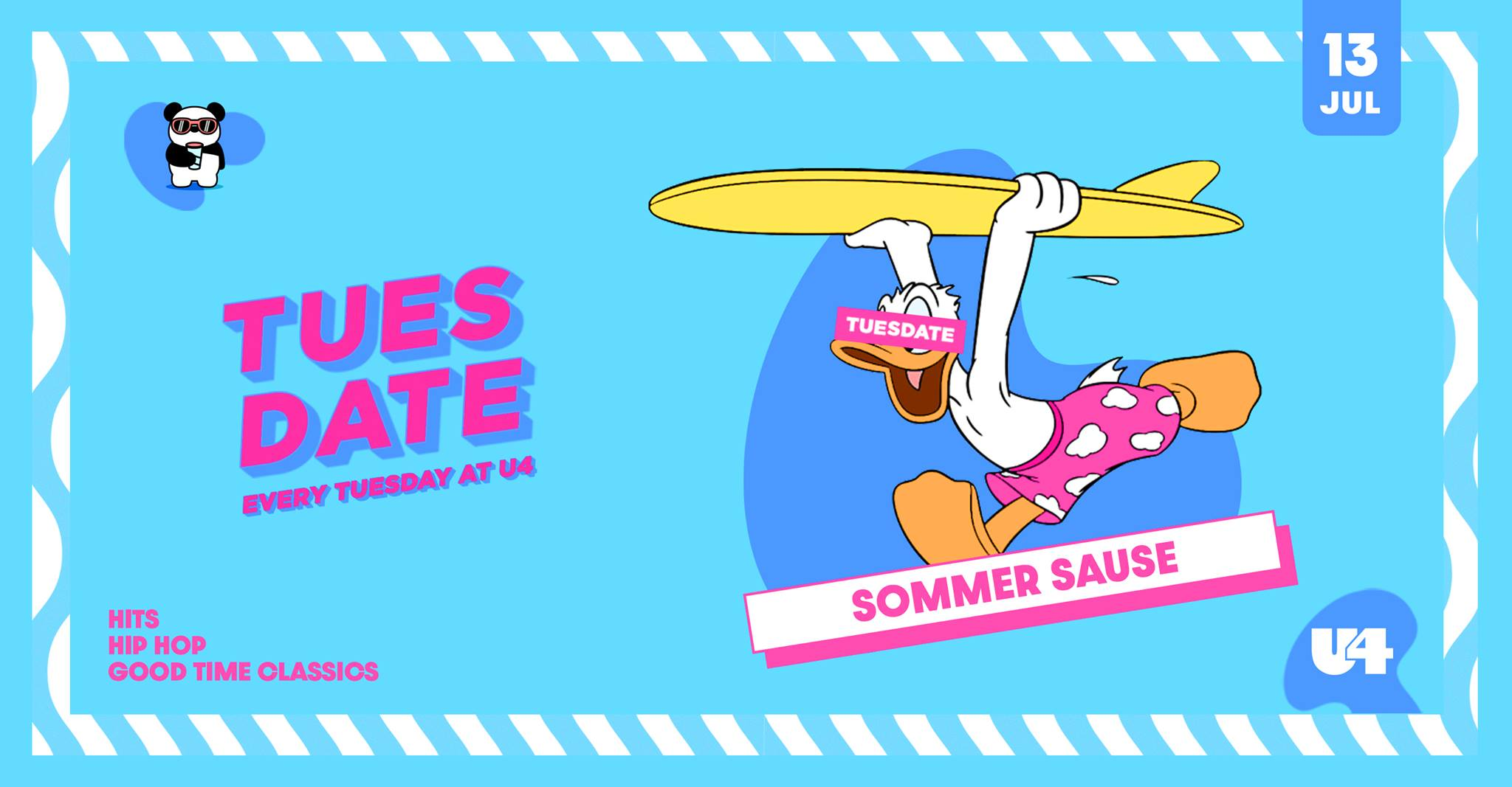 Events Wien: TUESDATE – SOMMERSAUSE