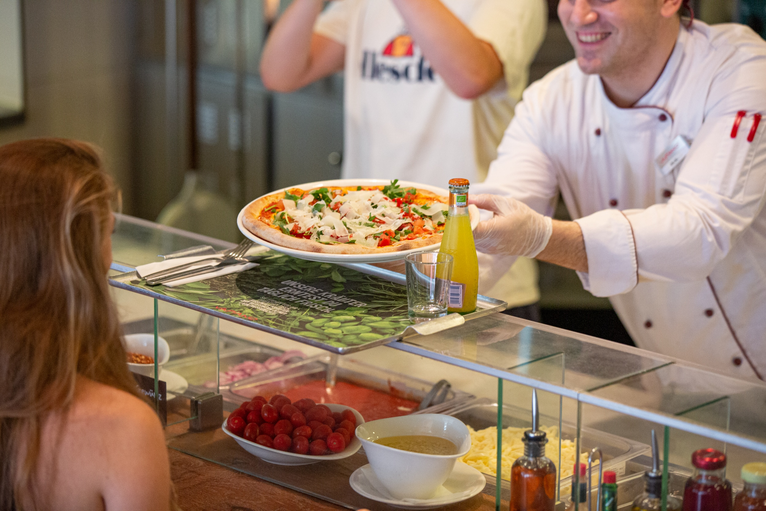 Pizza und Pasta in Wien Vapiano