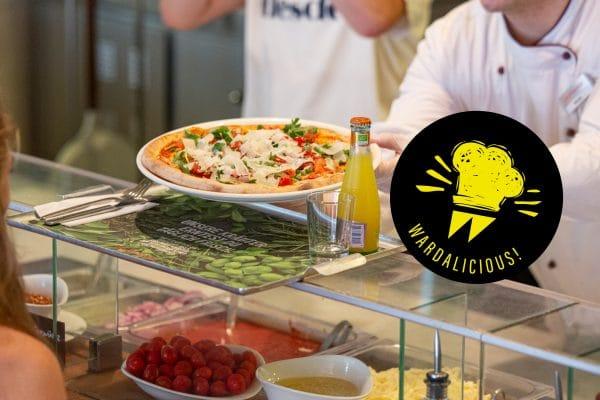 WARDALICIOUS VAPIANO: Pizzen, Pasta und eine unerwartete Überraschung