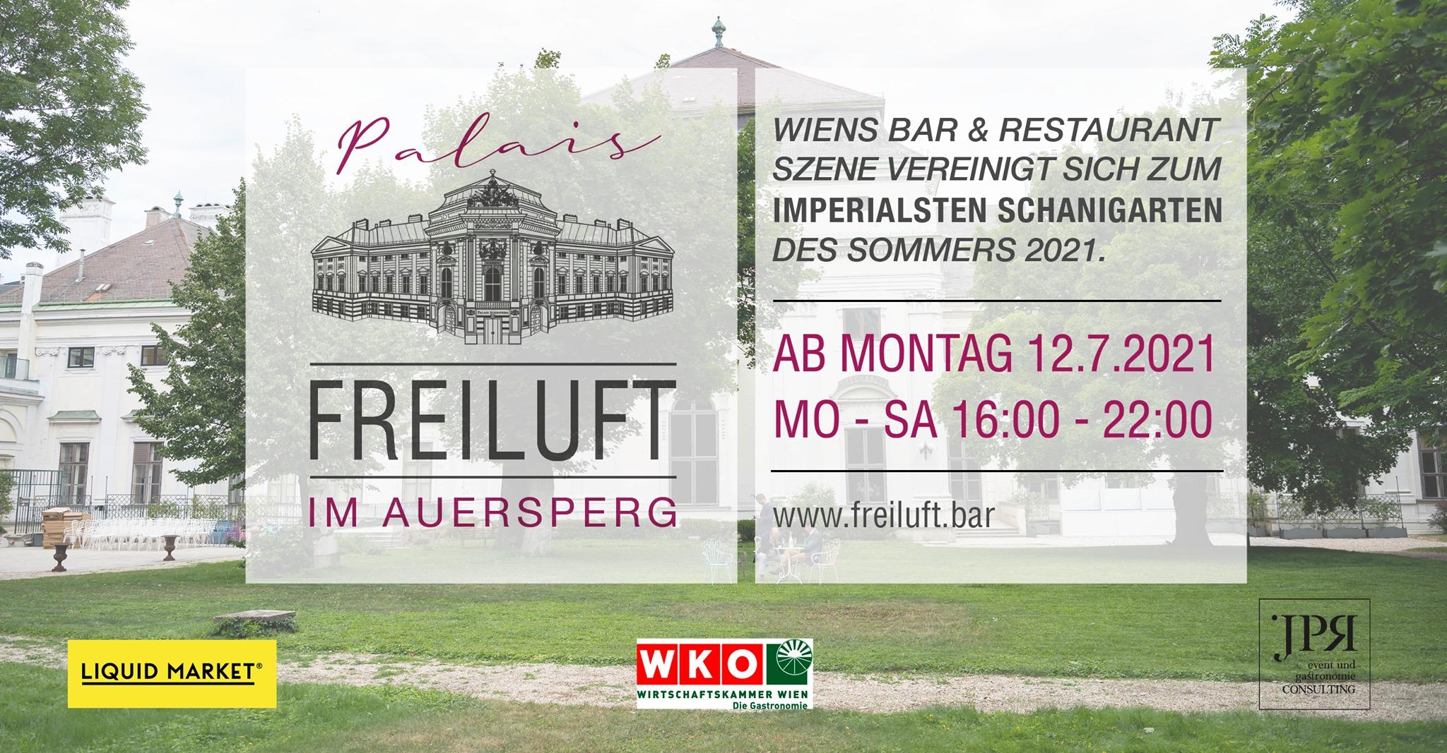 Events Wien: Palais Freiluft – der Sommer(Schani-) garten im Palais Auersperg