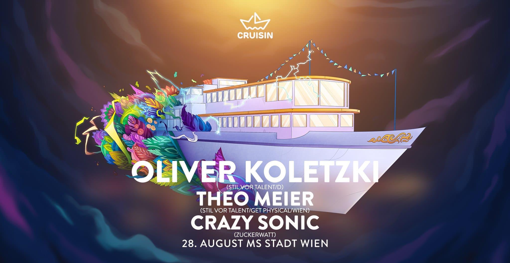 Events Wien: Cruisin w/ Oliver Koletzki