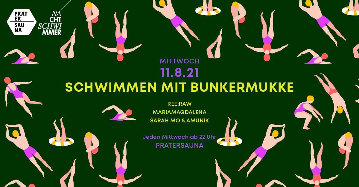 Events Wien: Nachtschwimmer w Bunkermukke