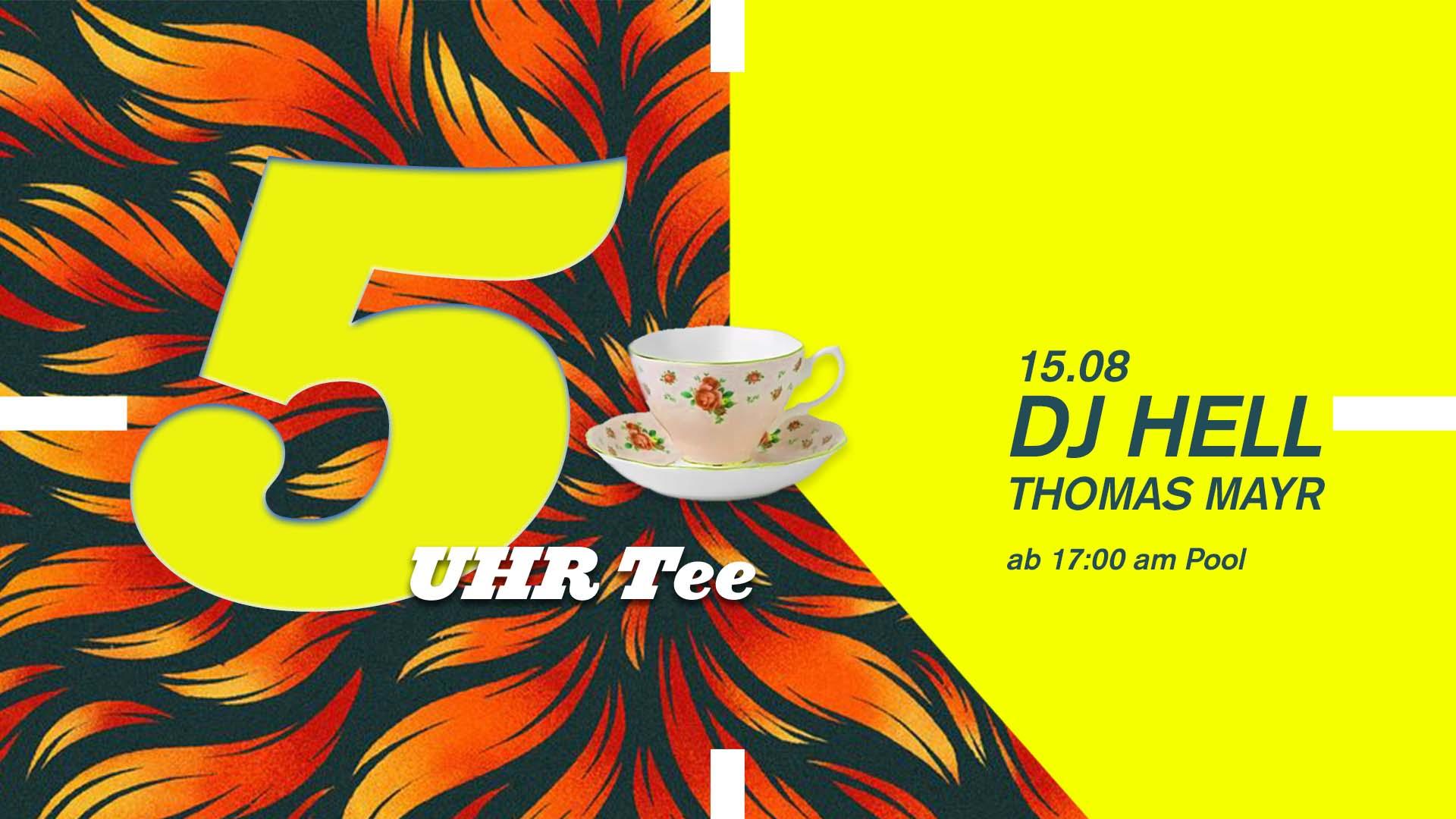 Events Wien: 5 Uhr Tee Spezial mit DJ Hell