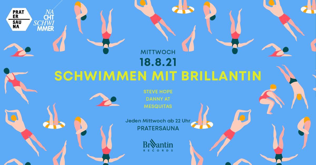 Events Wien: NACHTSCHWIMMER w Brillantin