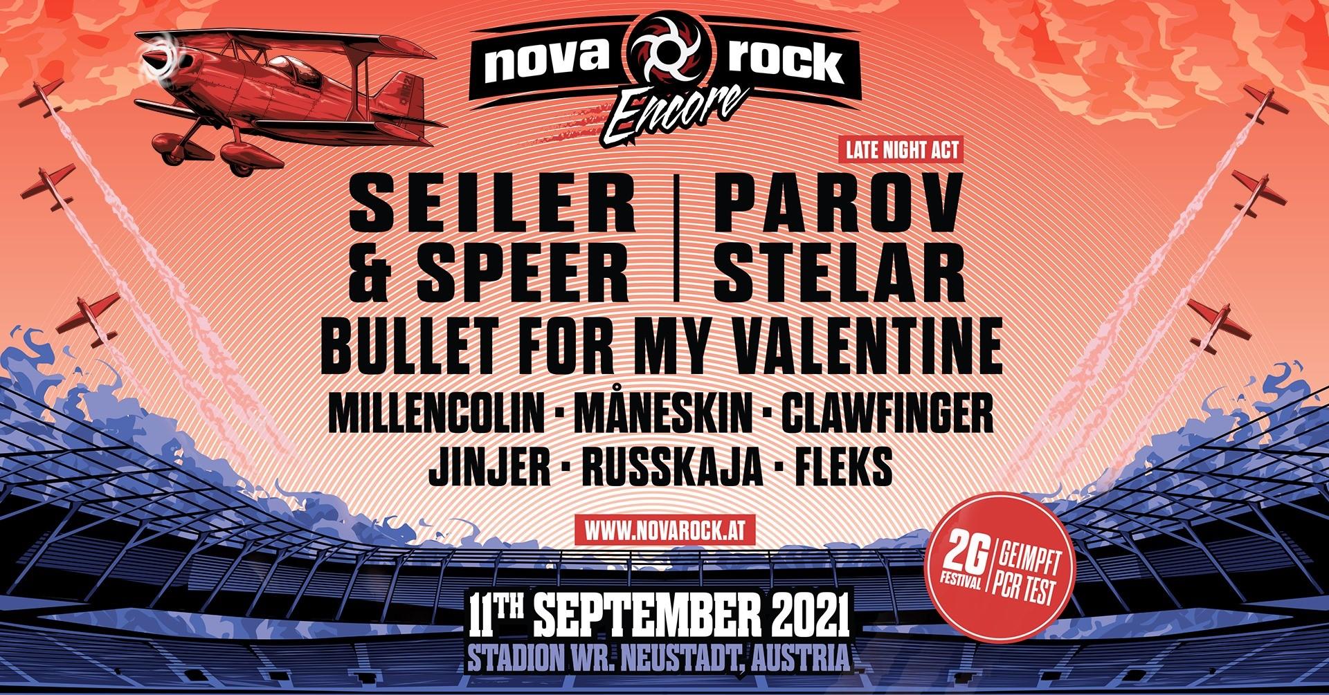 Events Wien: NOVA ROCK Encore