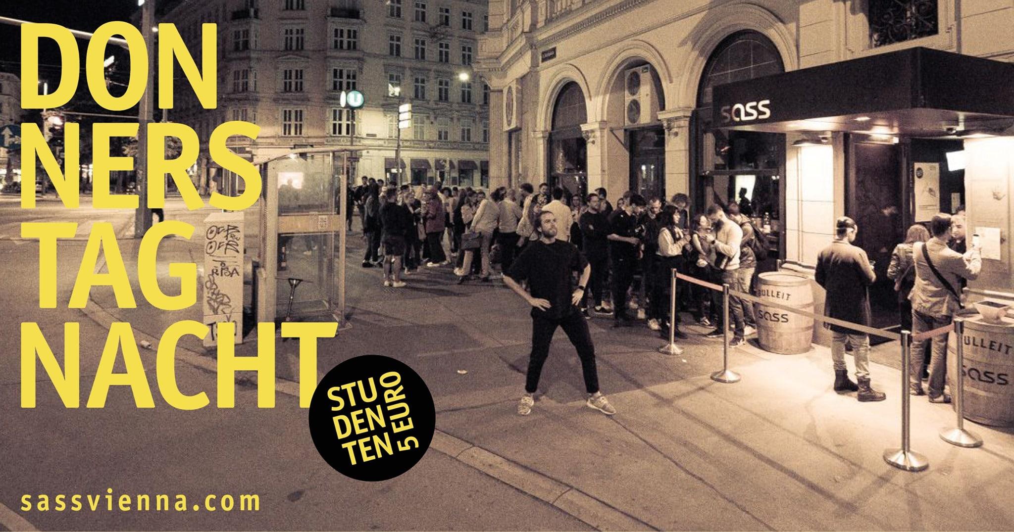 Events Wien: Donnerstag Nacht – SASS
