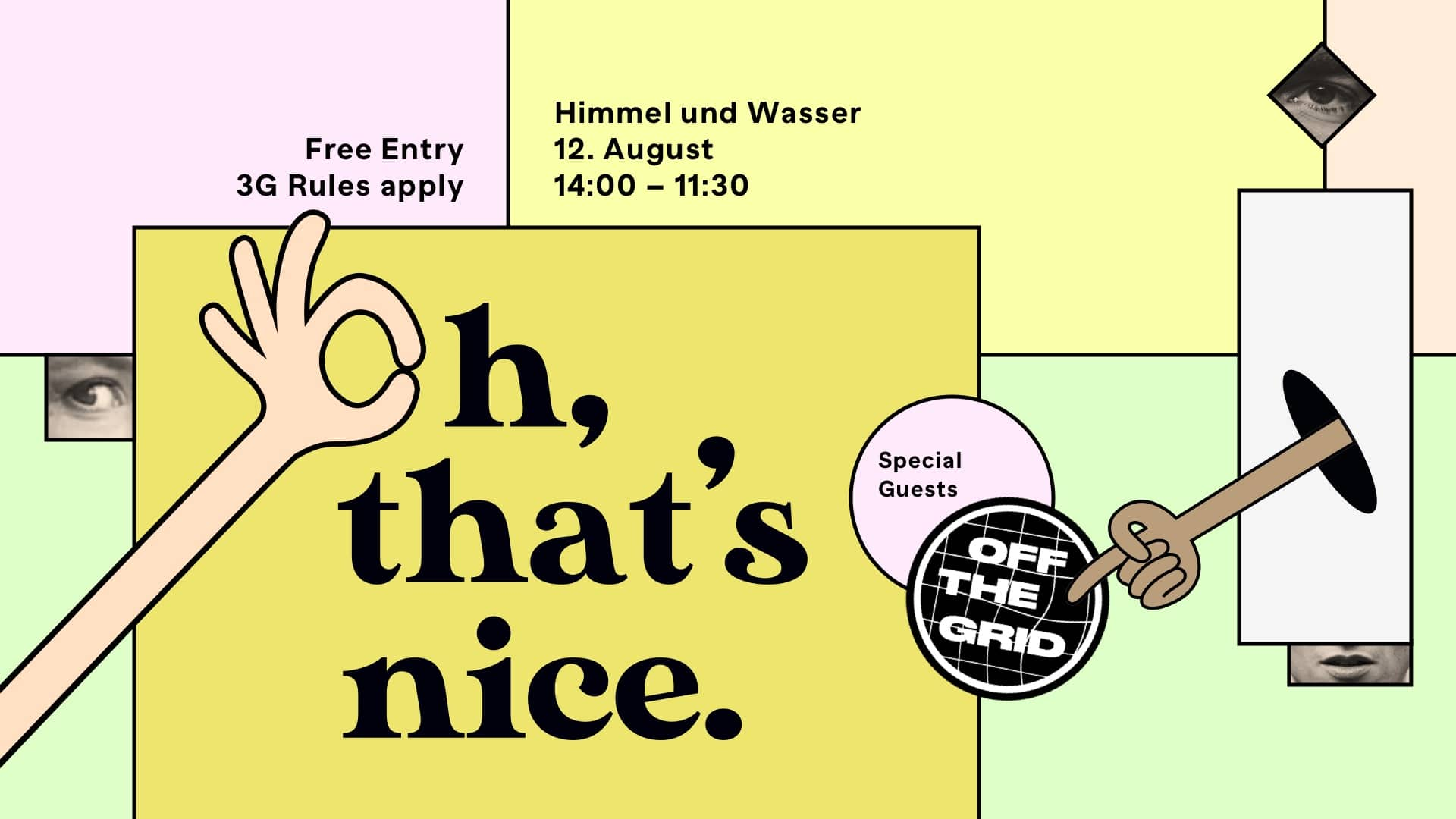 Events Wien: Oh, That's Nice. x Off The Grid