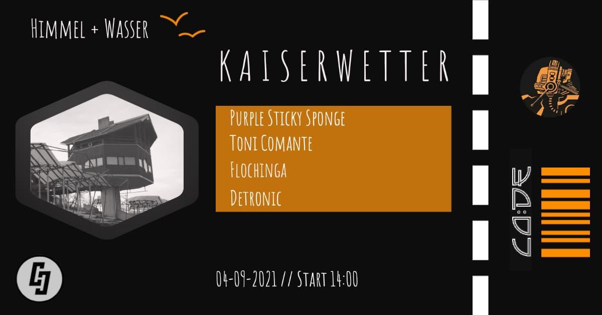 Events Wien: Kaiserwetter SPECIAL // CO:DE Records Label Party // Free Open Air // Himmel und Wasser