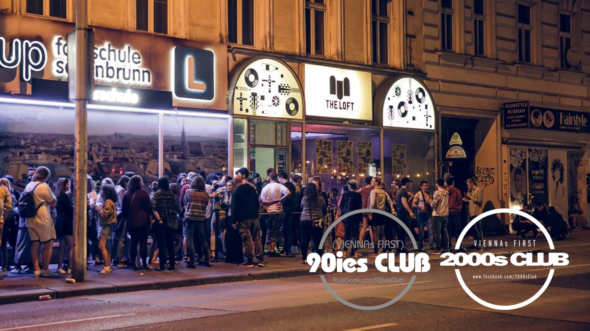 Events Wien: 90ies & 2000s – Loft Season Opening!