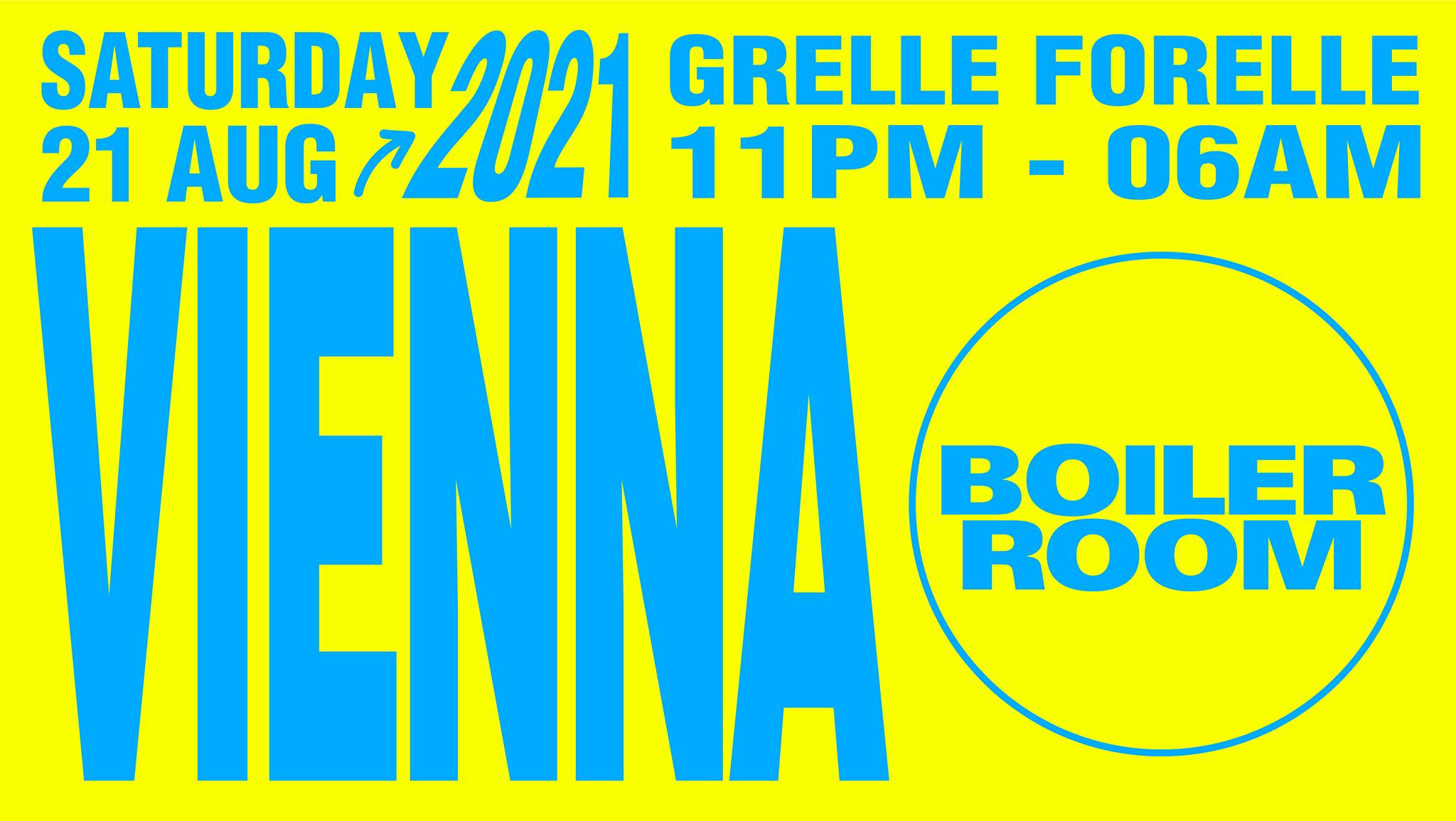 Events Wien: Boiler Room Vienna: Afterparty