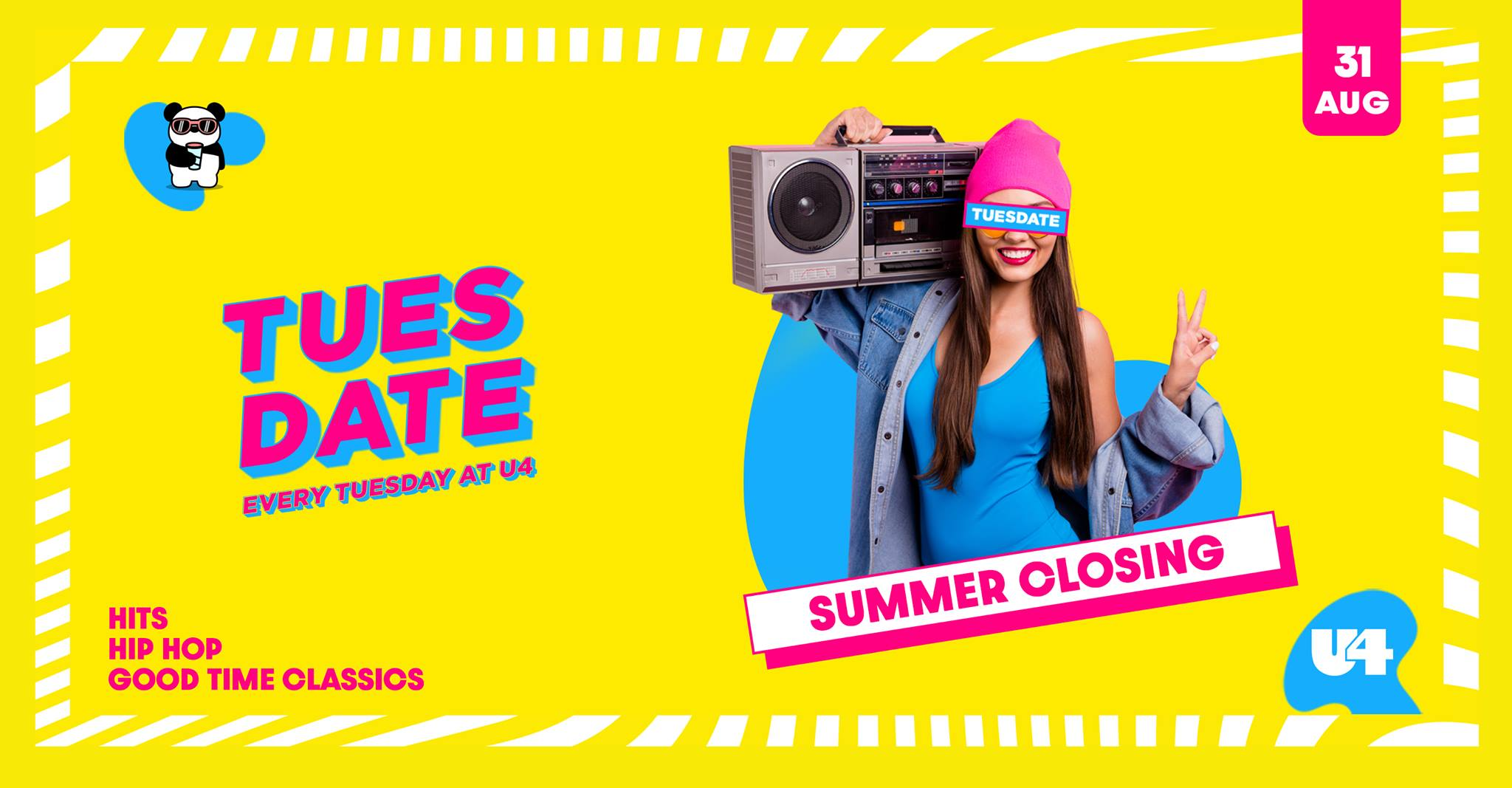 Events Wien: Summer Closing   Tuesdate   31.08.