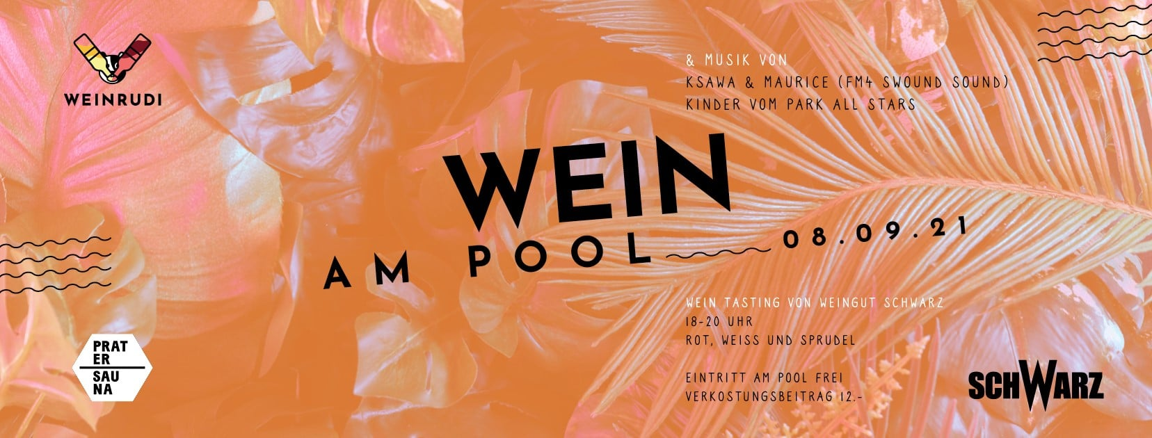 Events Wien: WEIN AM POOL – Summer Closing w Michael Schwarz