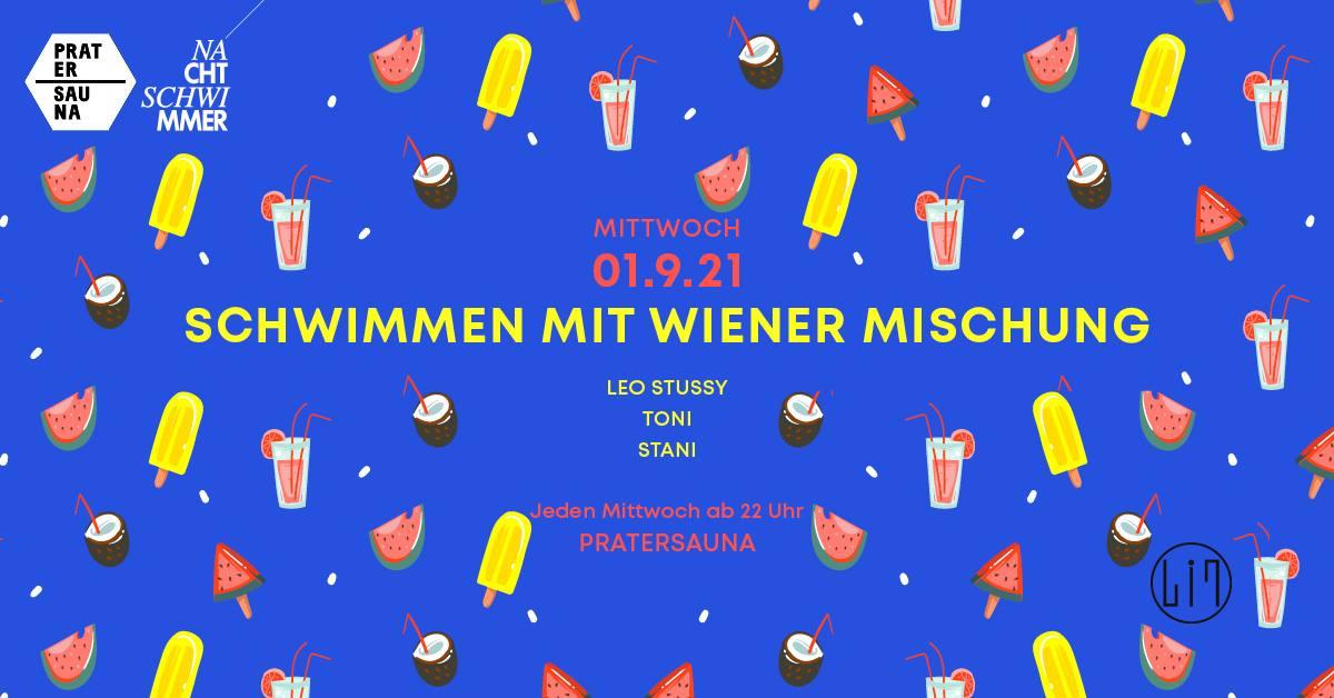 Events Wien: NACHTSCHWIMMER w Wiener Mischung