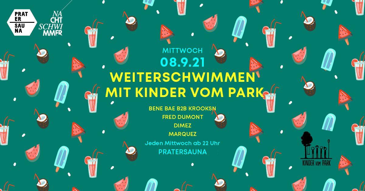 Events Wien: NACHTSCHWIMMER w Kinder vom Park