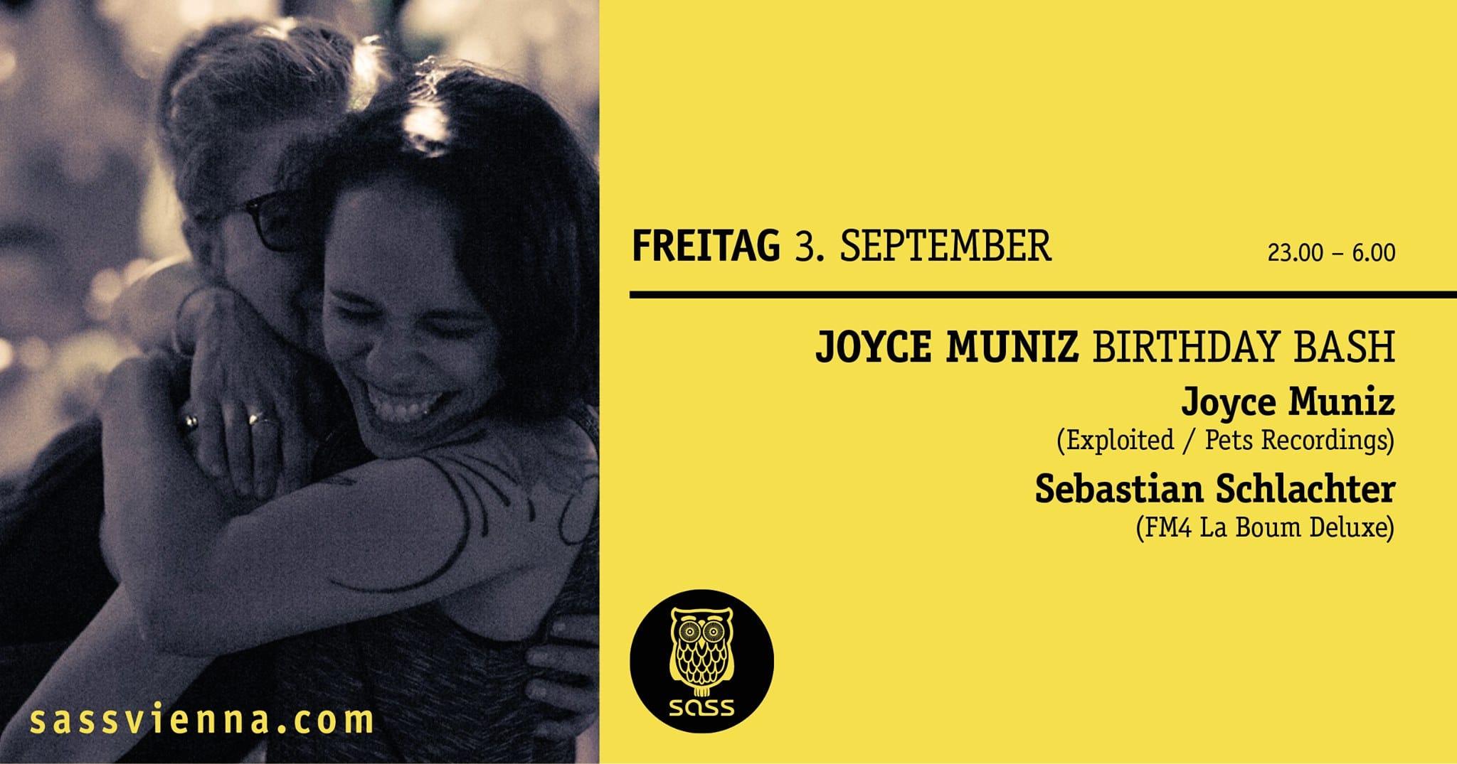 Events Wien: Joyce Muniz Birthday Bash