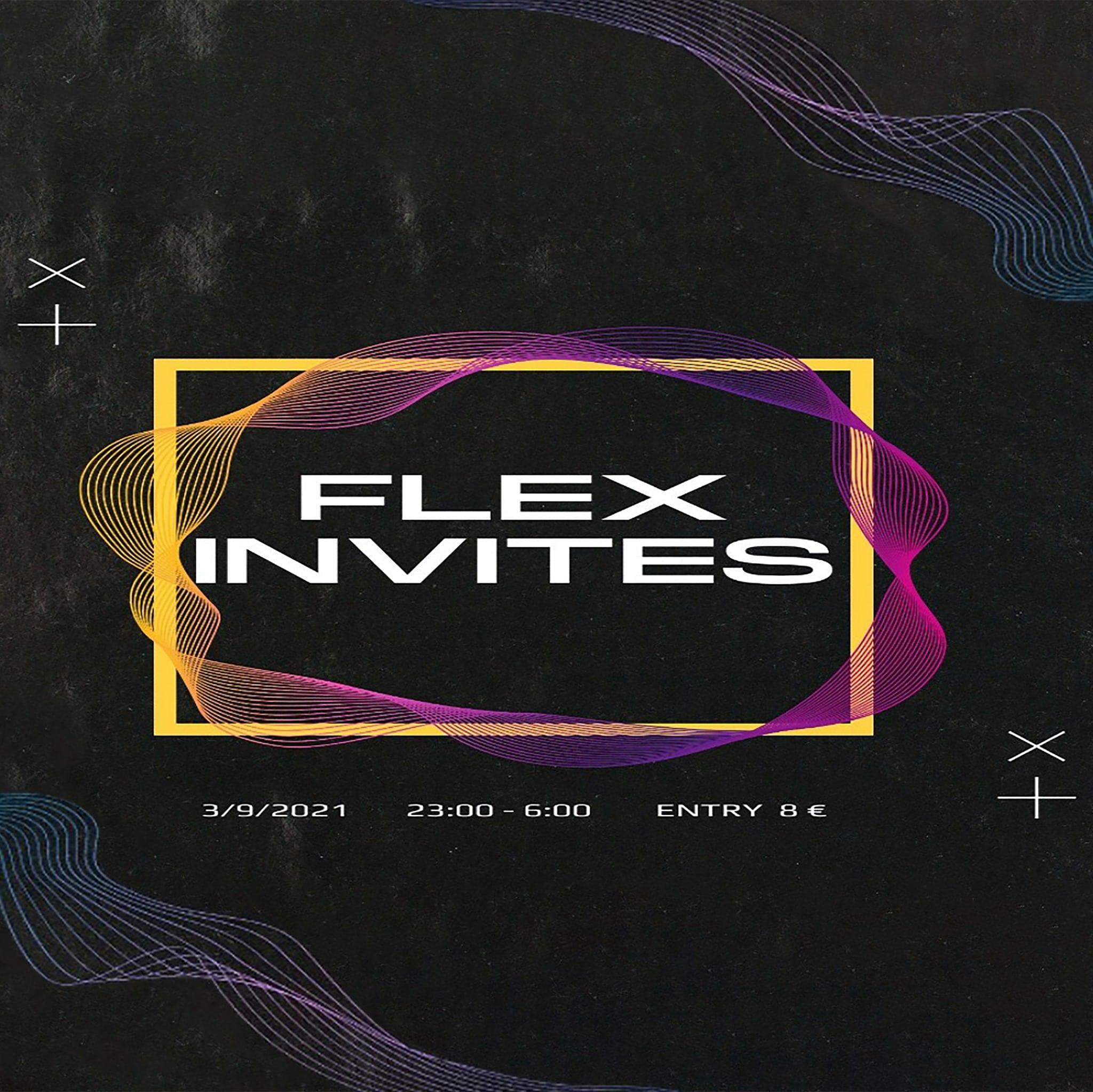 Events Wien: FLEX Invites top selected DJs