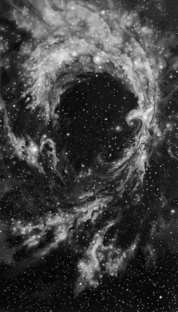Robert Longo Rosette Nebula