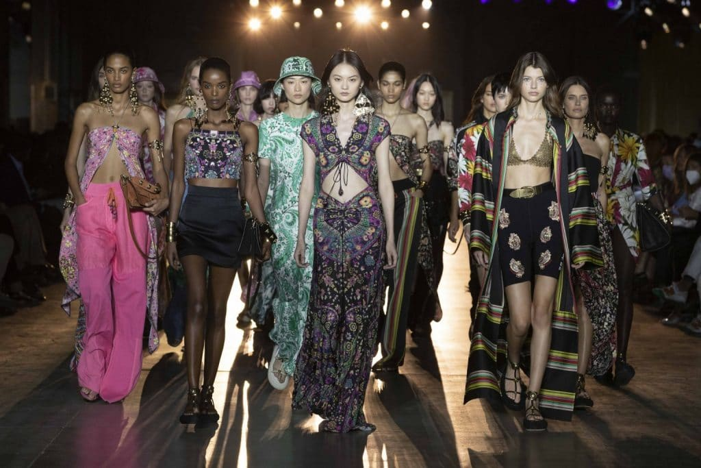 Etro Show Fashion Week Milan