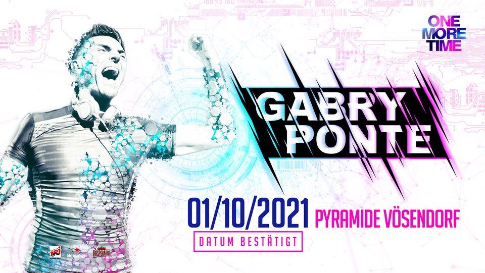 Events Wien: One More Time – XXL w/ GABRY PONTE