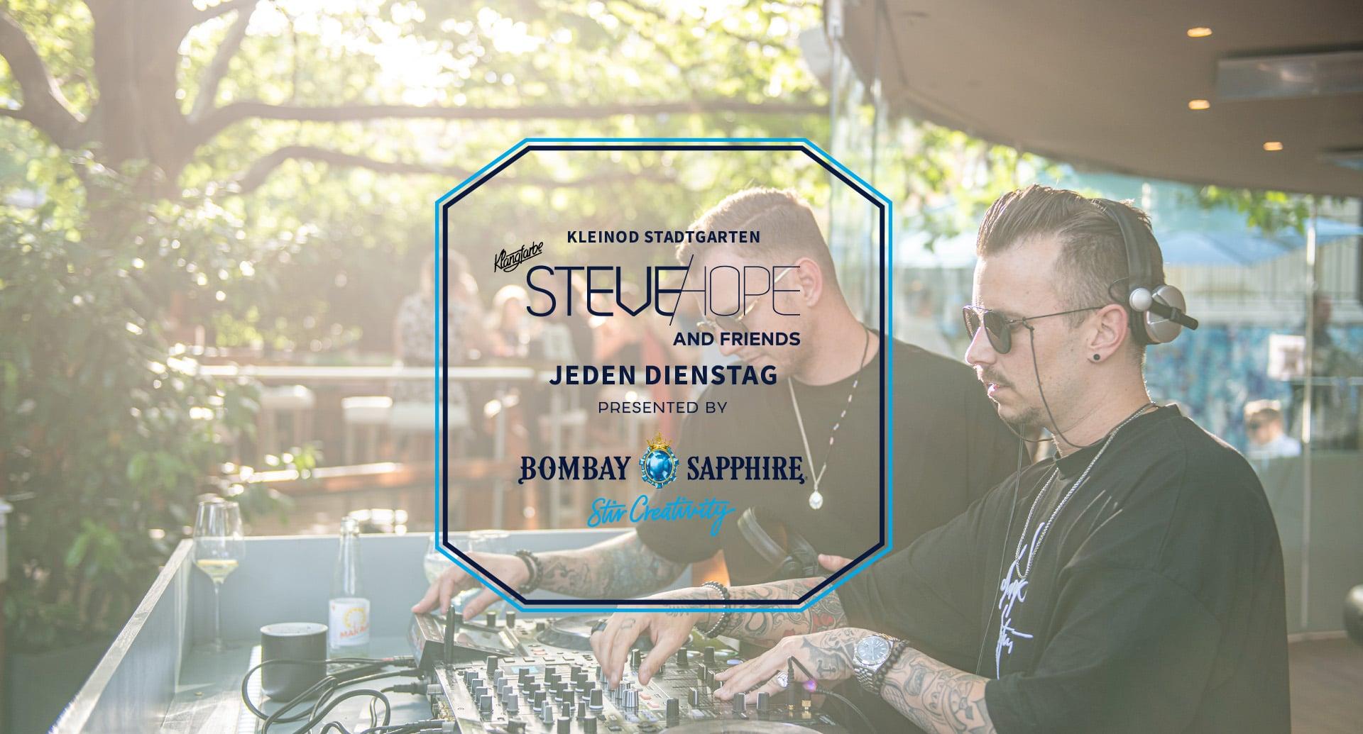 Events Wien: Steve Hope & Friends   Jeden Dienstag im Kleinod Stadtgarten