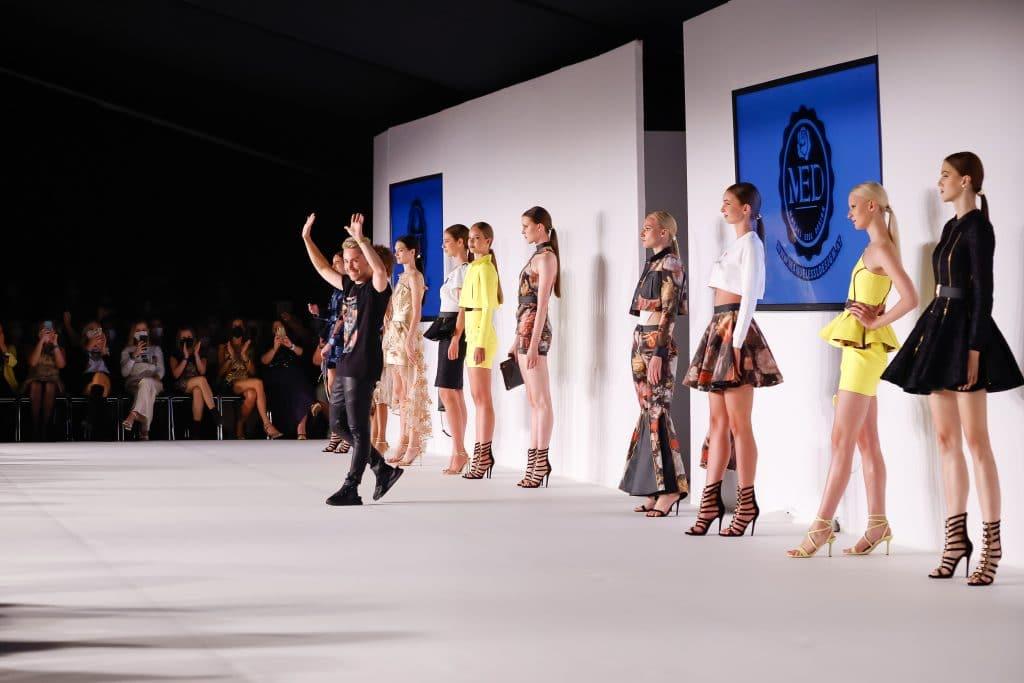 Manuel Essl auf der MQ Vienna Fashion Week