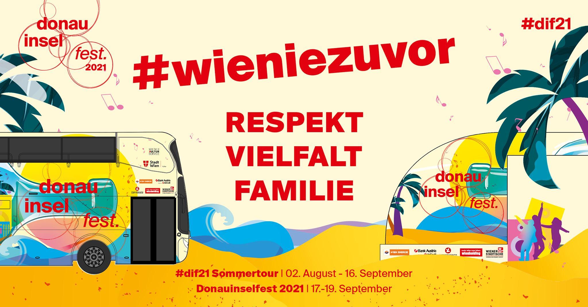 Events Wien: Donauinselfest 2021
