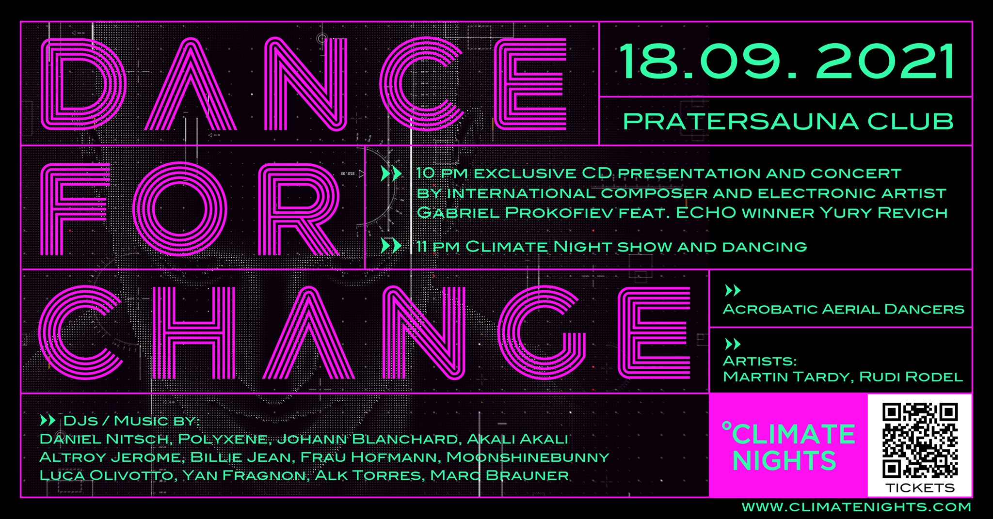 Events Wien: Climate Night in Vienna