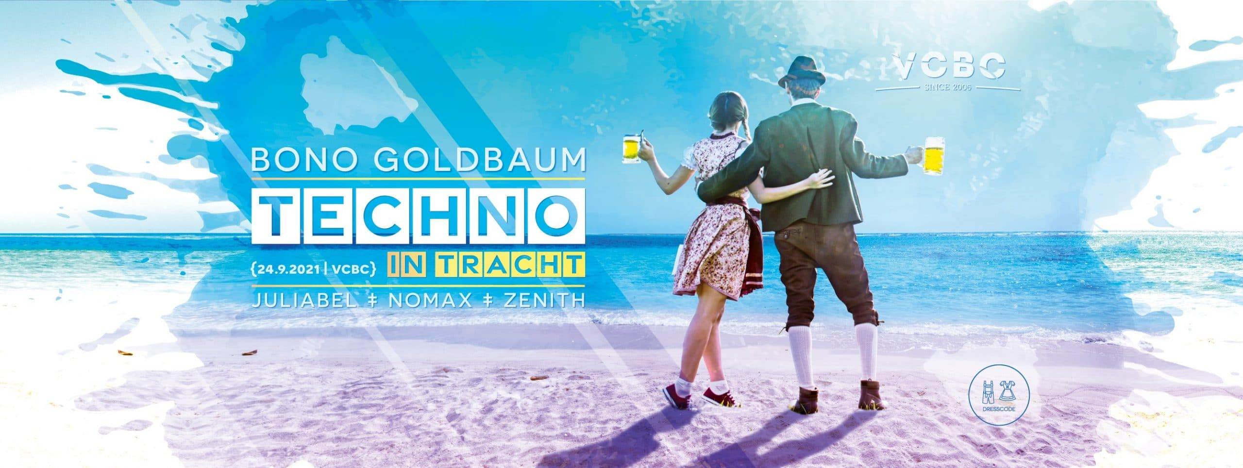 Events Wien: Techno in Tracht 2021