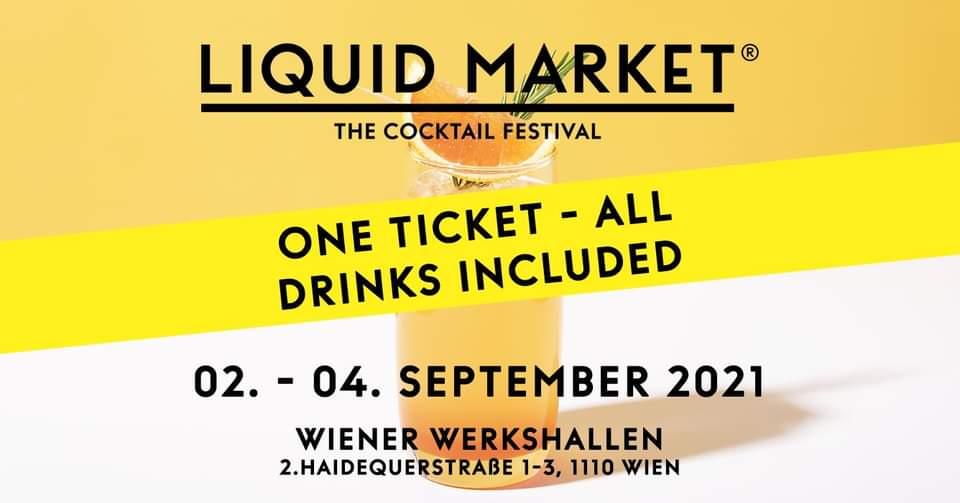 Events Wien: LIQUID MARKET VIENNA – the Cocktail Festival 2021
