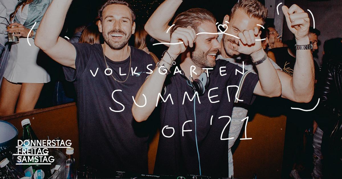 Events Wien: Volksgarten Summer of '21