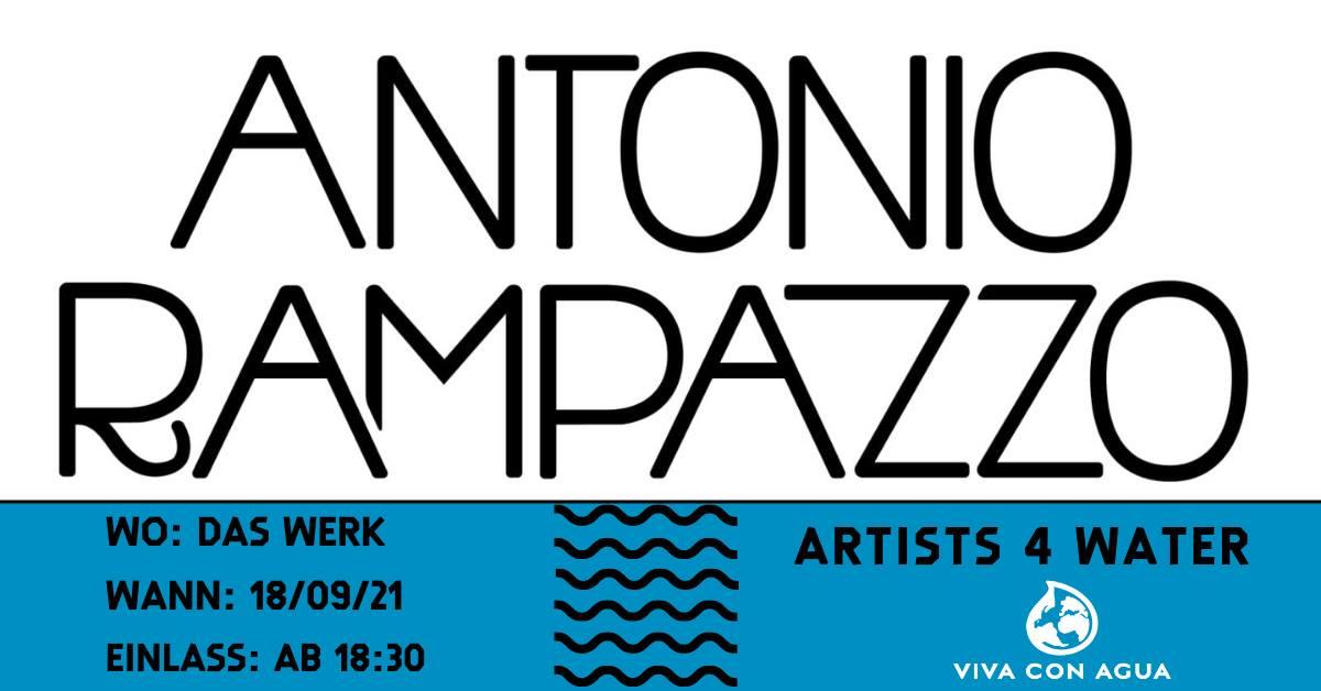 Events Wien: Artists 4 water // ANTONIO RAMPAZZO