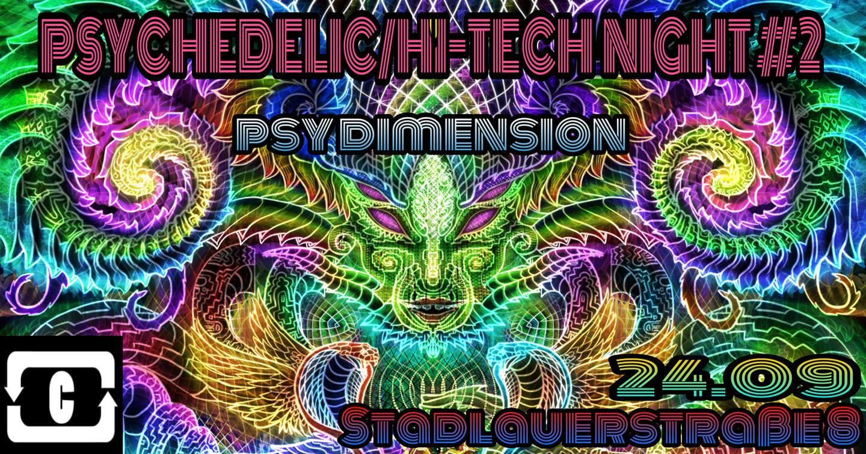 Events Wien: PSYCHEDELIC / HI-TECH #2