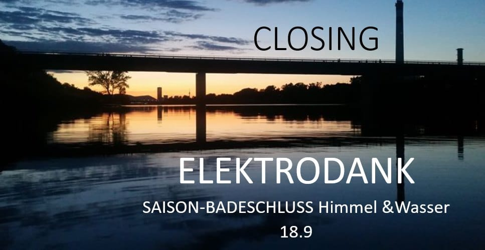 Events Wien: ELEKTRODANK BADESCHLUSS