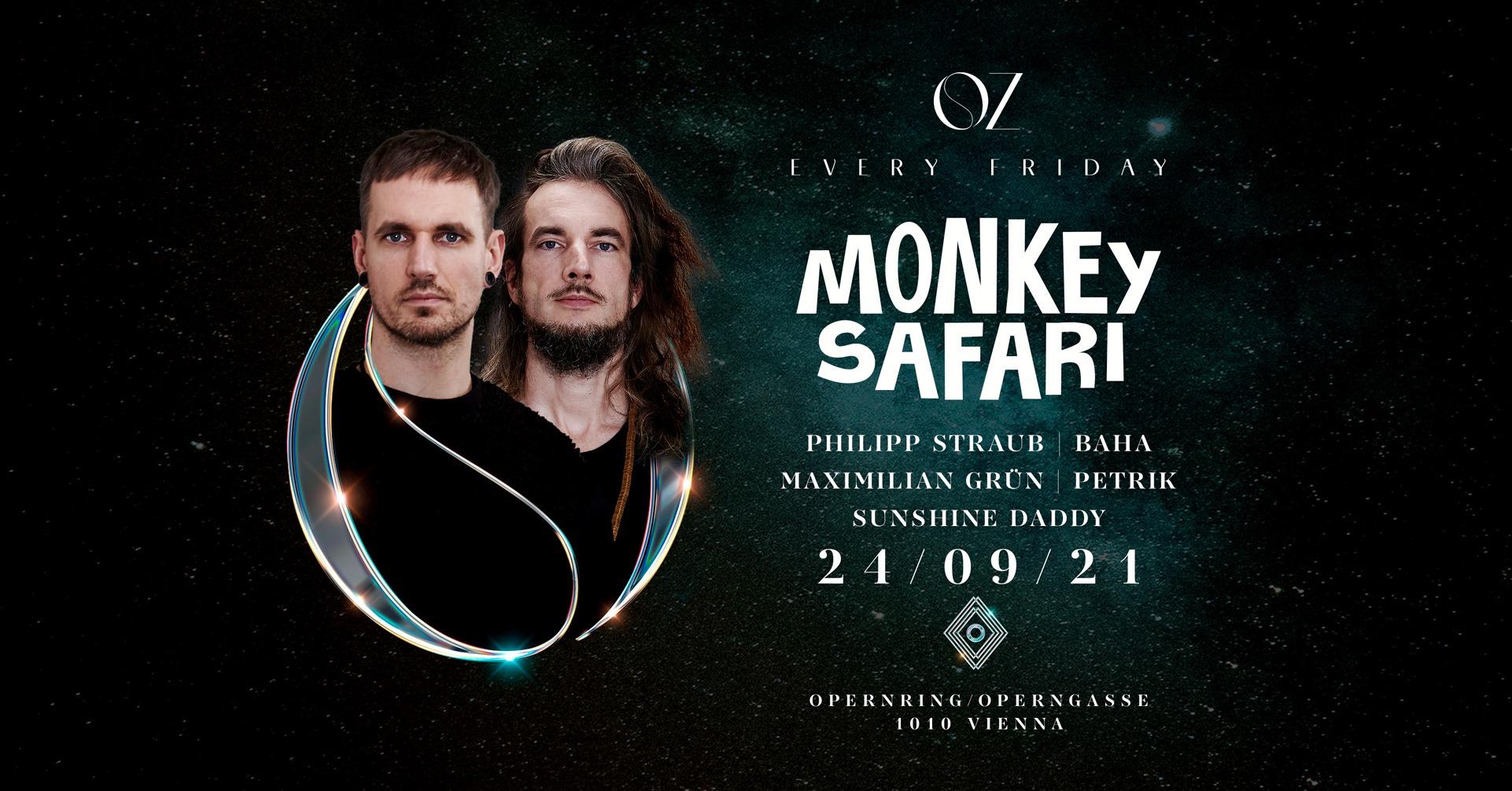 Events Wien: OZ w/ Monkey Safari