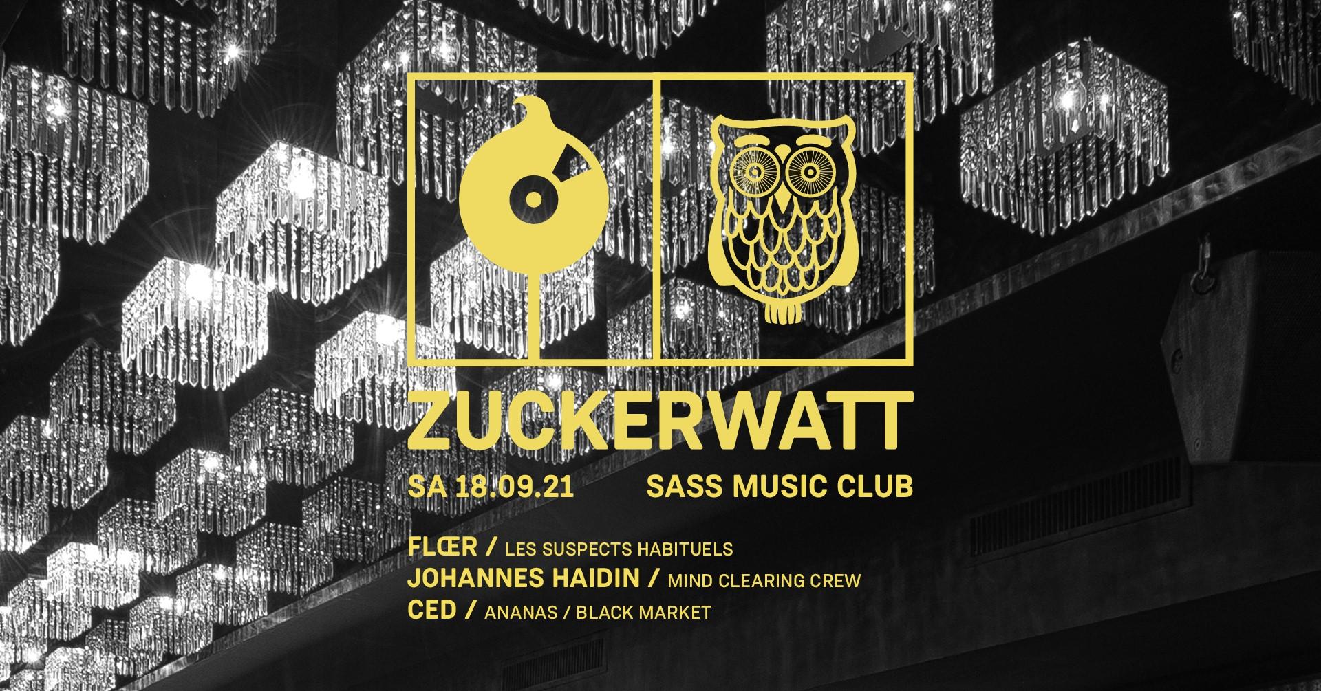 Events Wien: ZUCKERWATT | SASS Music Club