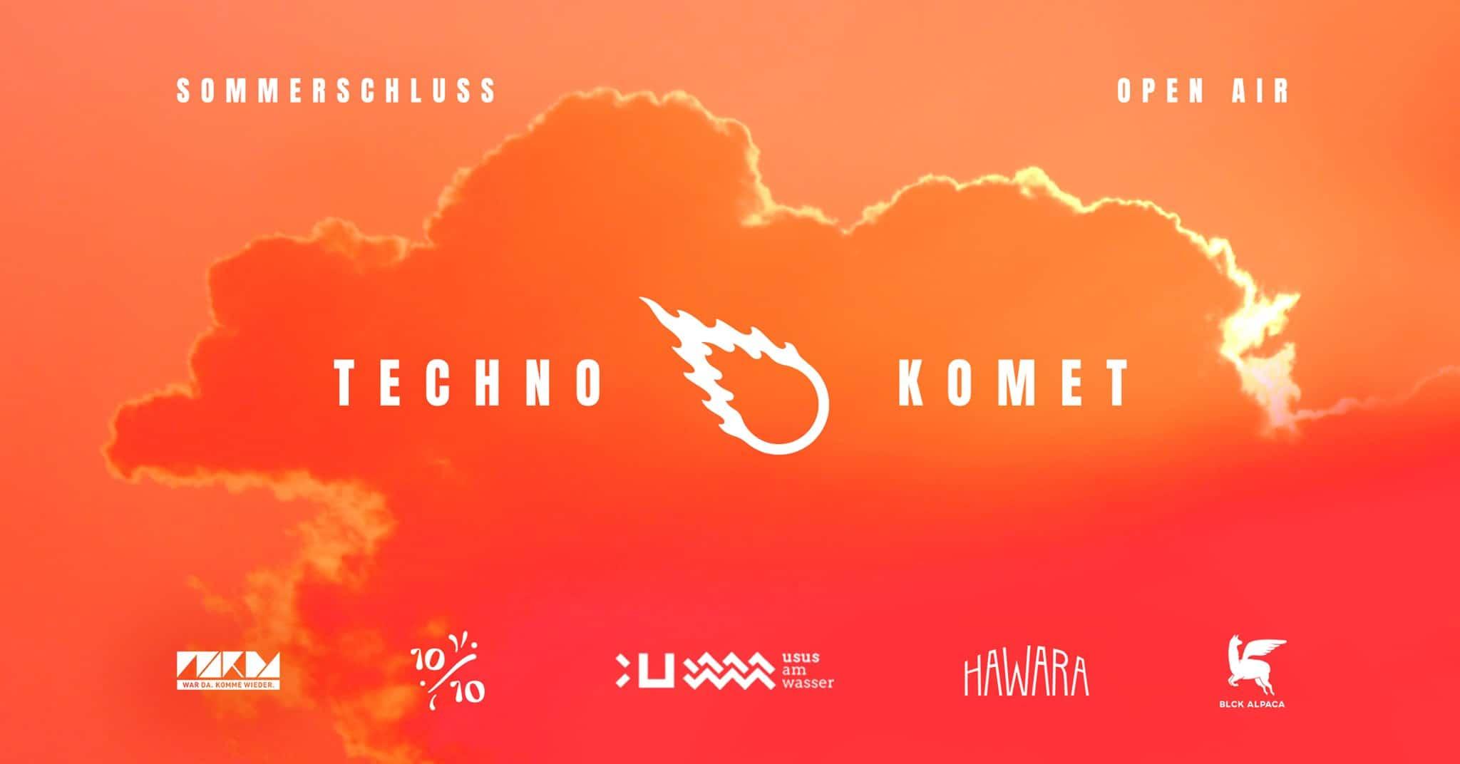Events Wien: Techno Komet Sommerschluss – Ein letztes Open Air