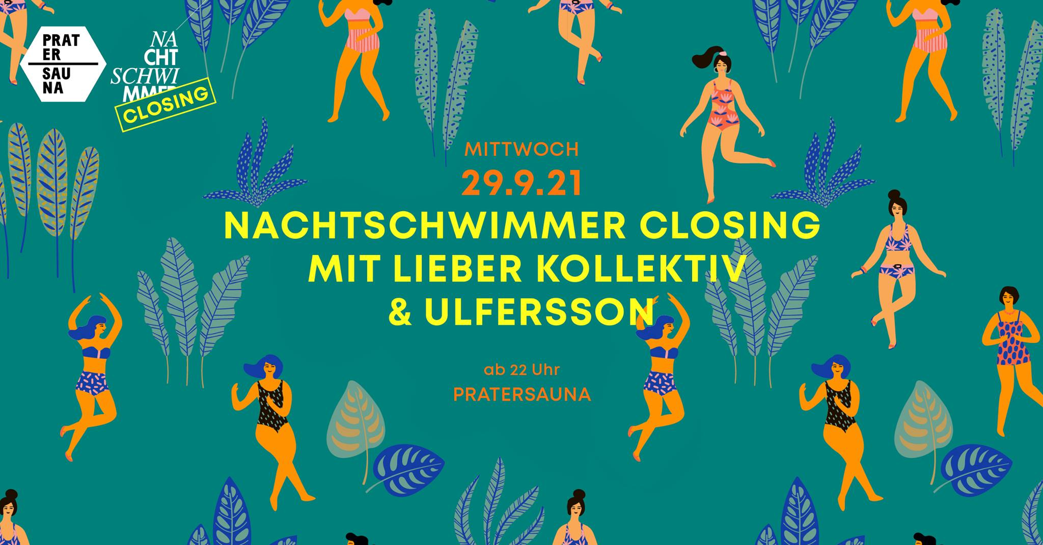 Events Wien: NACHTSCHWIMMER Closing/the last dance