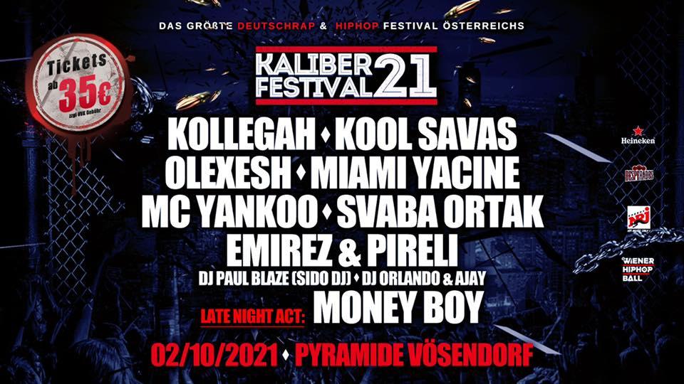 Events Wien: Kaliber 21 | Kollegah x Kool Savas x Miami Yacine x Olexesh
