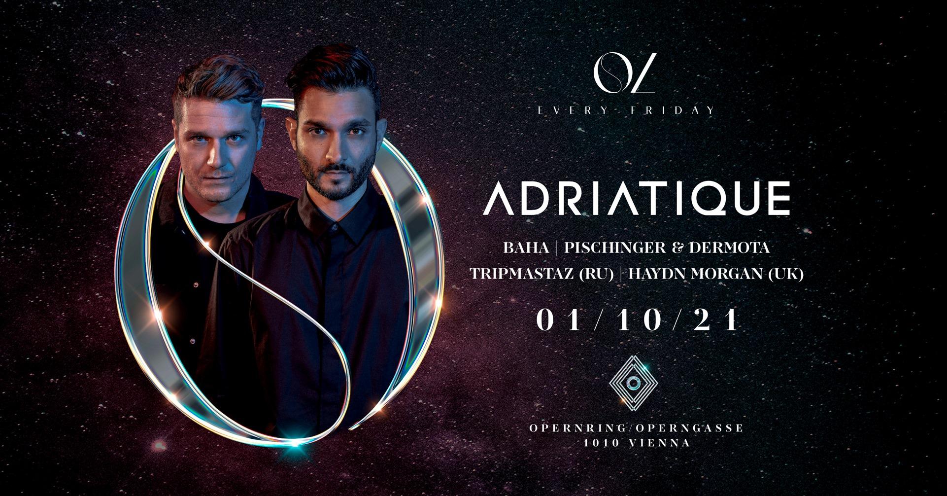 Events Wien: OZ w/ Adriatique