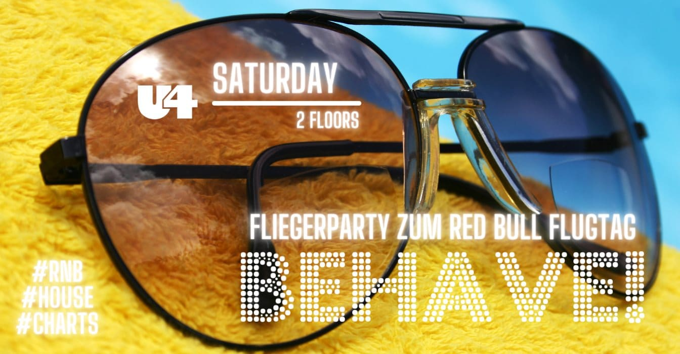 Events Wien: BEHAVE! – Red Bull Flugtag – Fliegerparty