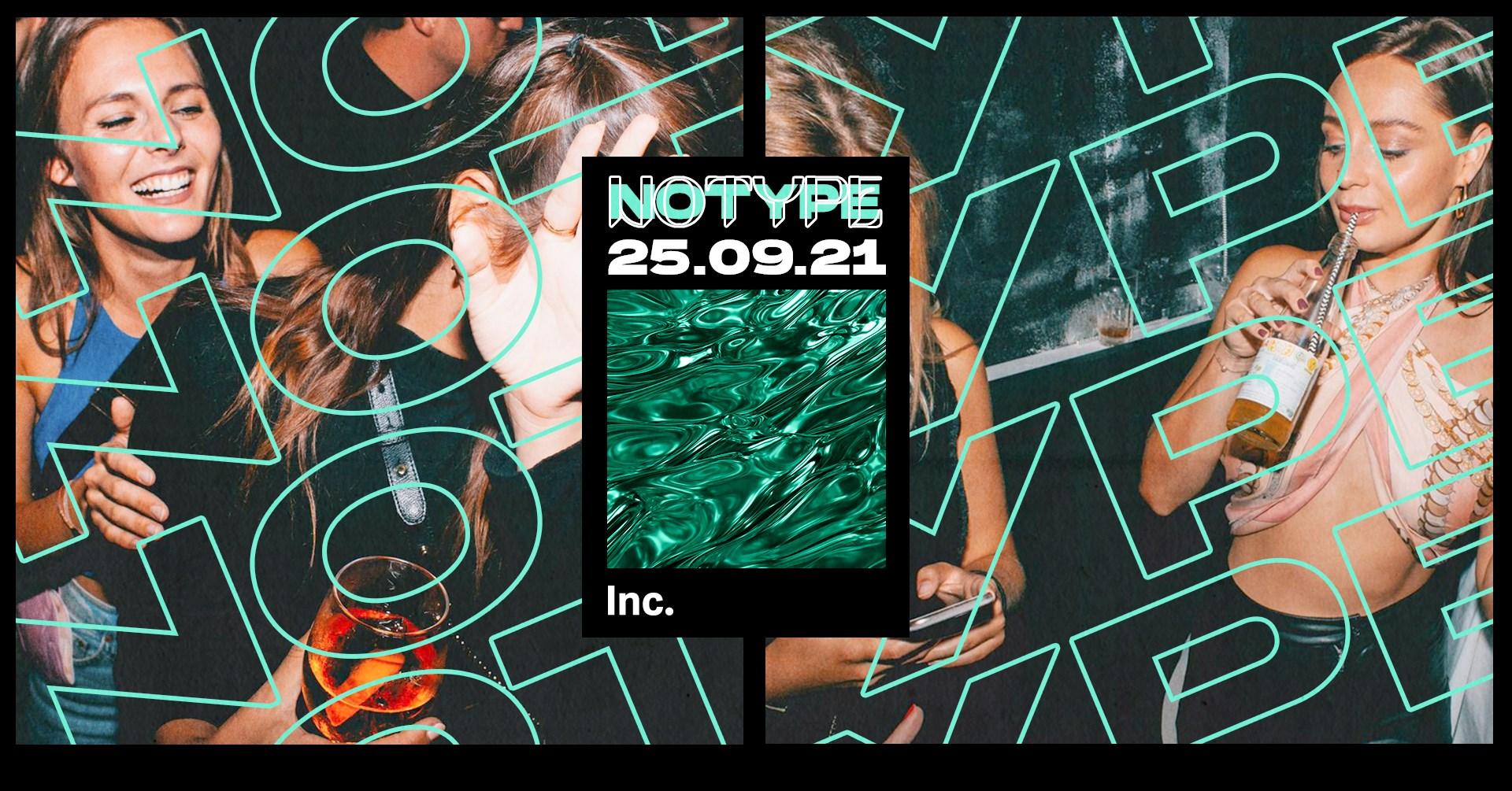 Events Wien: No Type – Inc. Saturdays