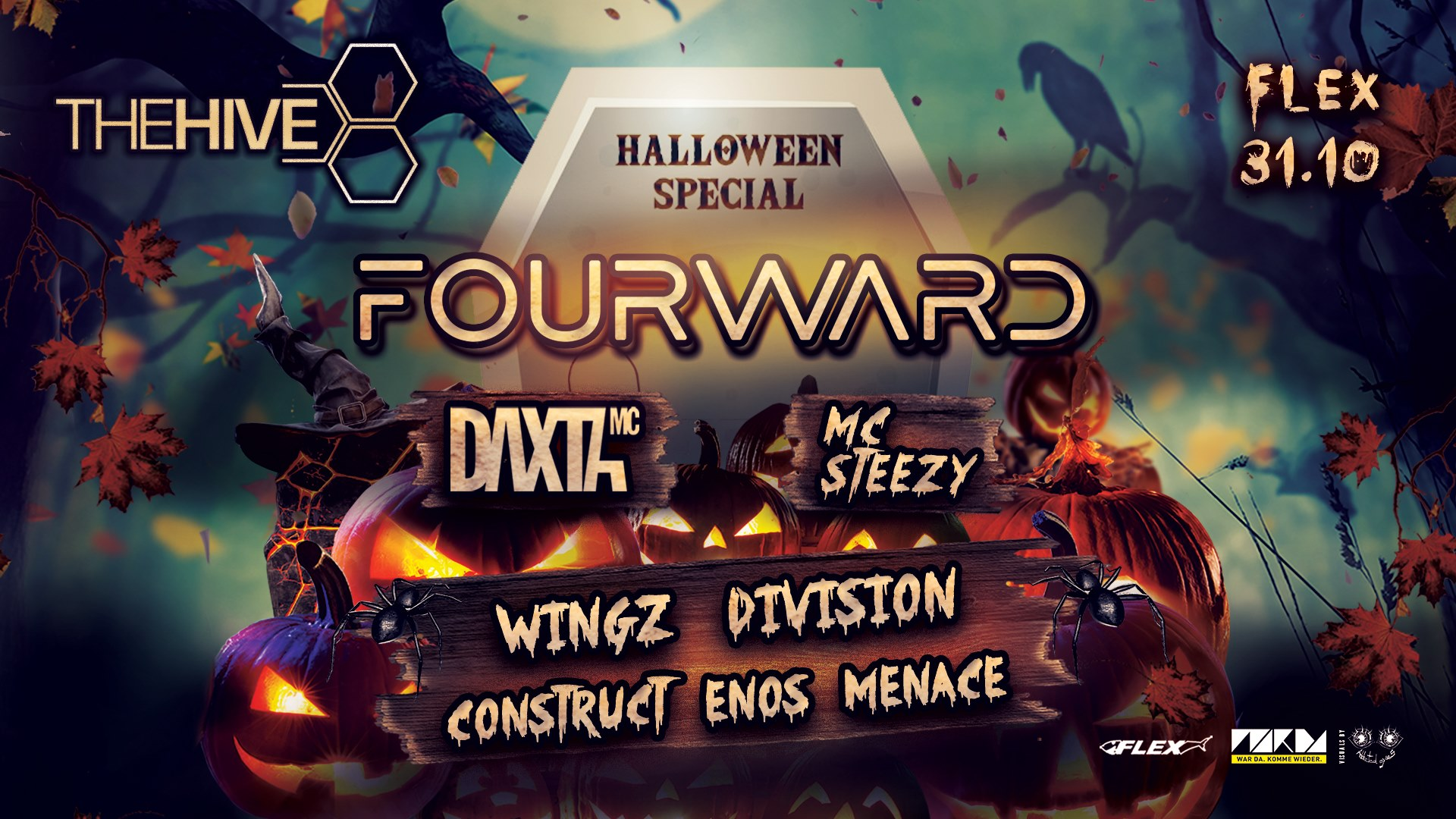 Events Wien: THE HIVE Halloween Party