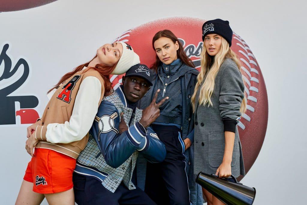 BOSS x Russell Athletic mit Khaby Lame auf der Fashion Week Mailand