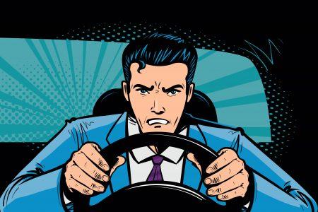 toxic driving unfälle auto männer