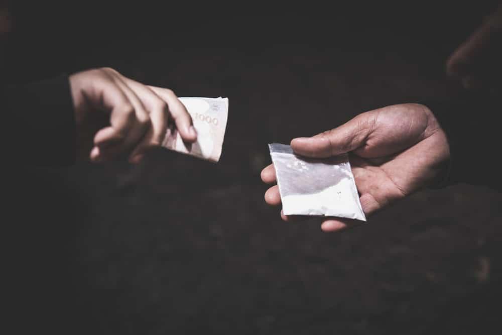 Drogenhandel Ketamin in Pulverform