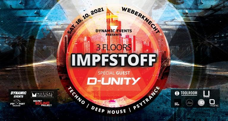 Events Wien: IMPFSTOFF – 3 FLOORS
