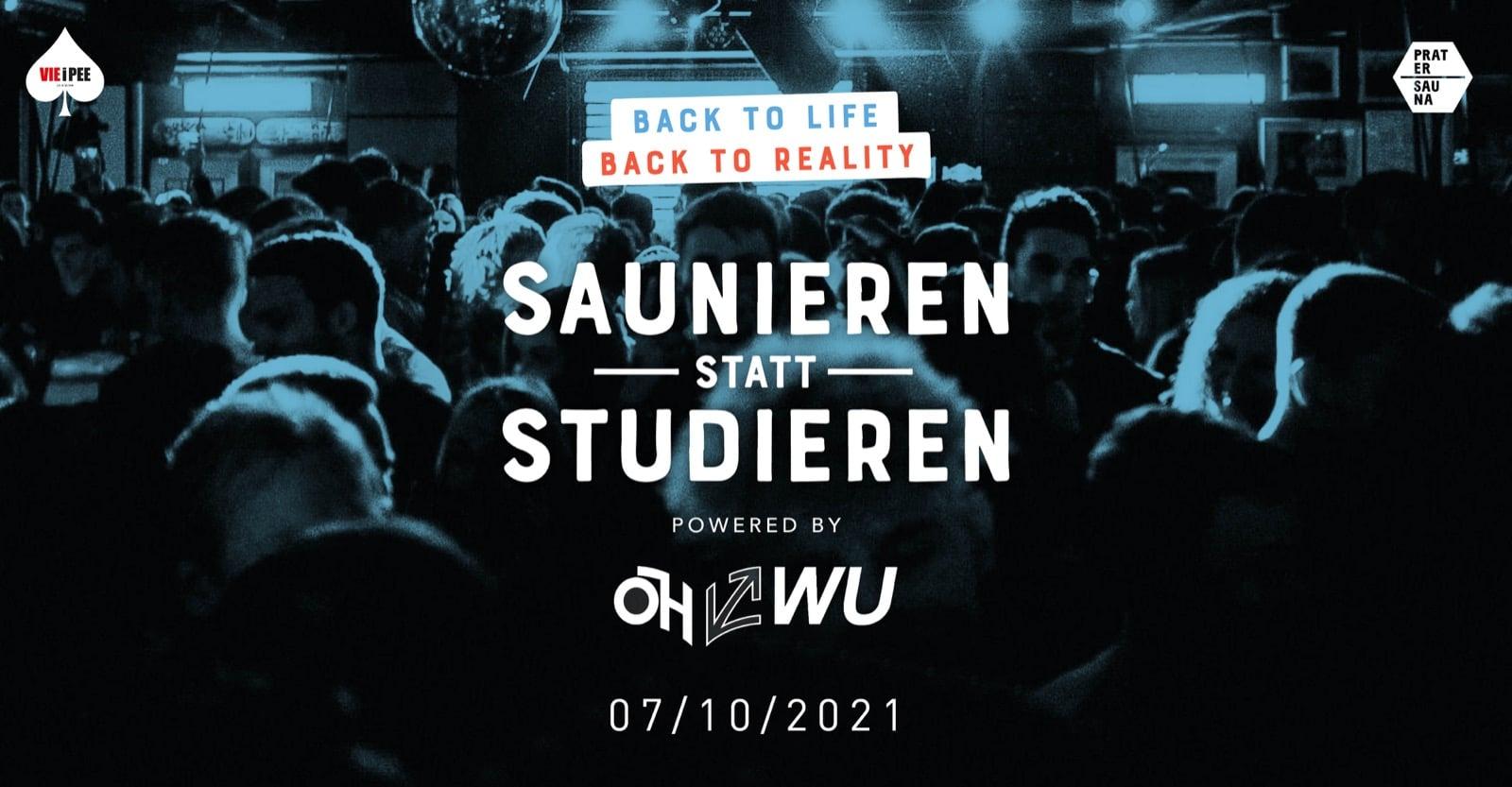 Events Wien: Saunieren statt Studieren im Oktober   powered by ÖH WU