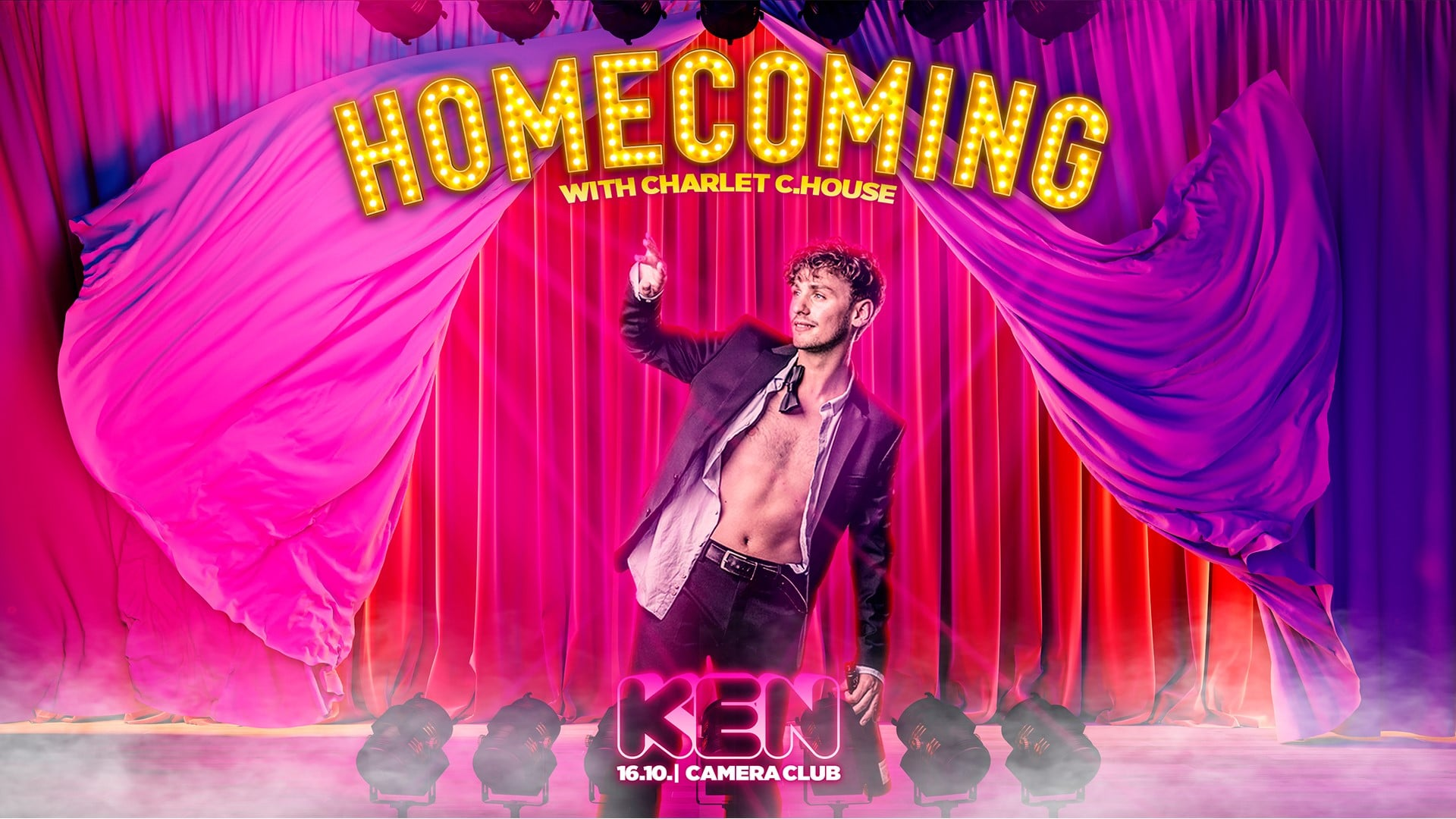Events Wien: KEN Club ! – HOMECOMING feat. Charlet Crackhouse